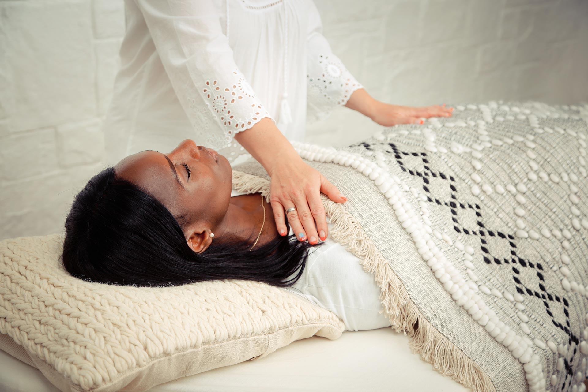 Reiki Chest Massage
