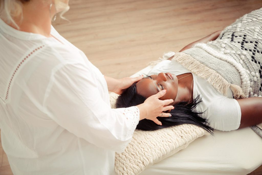 Reiki Head Massage